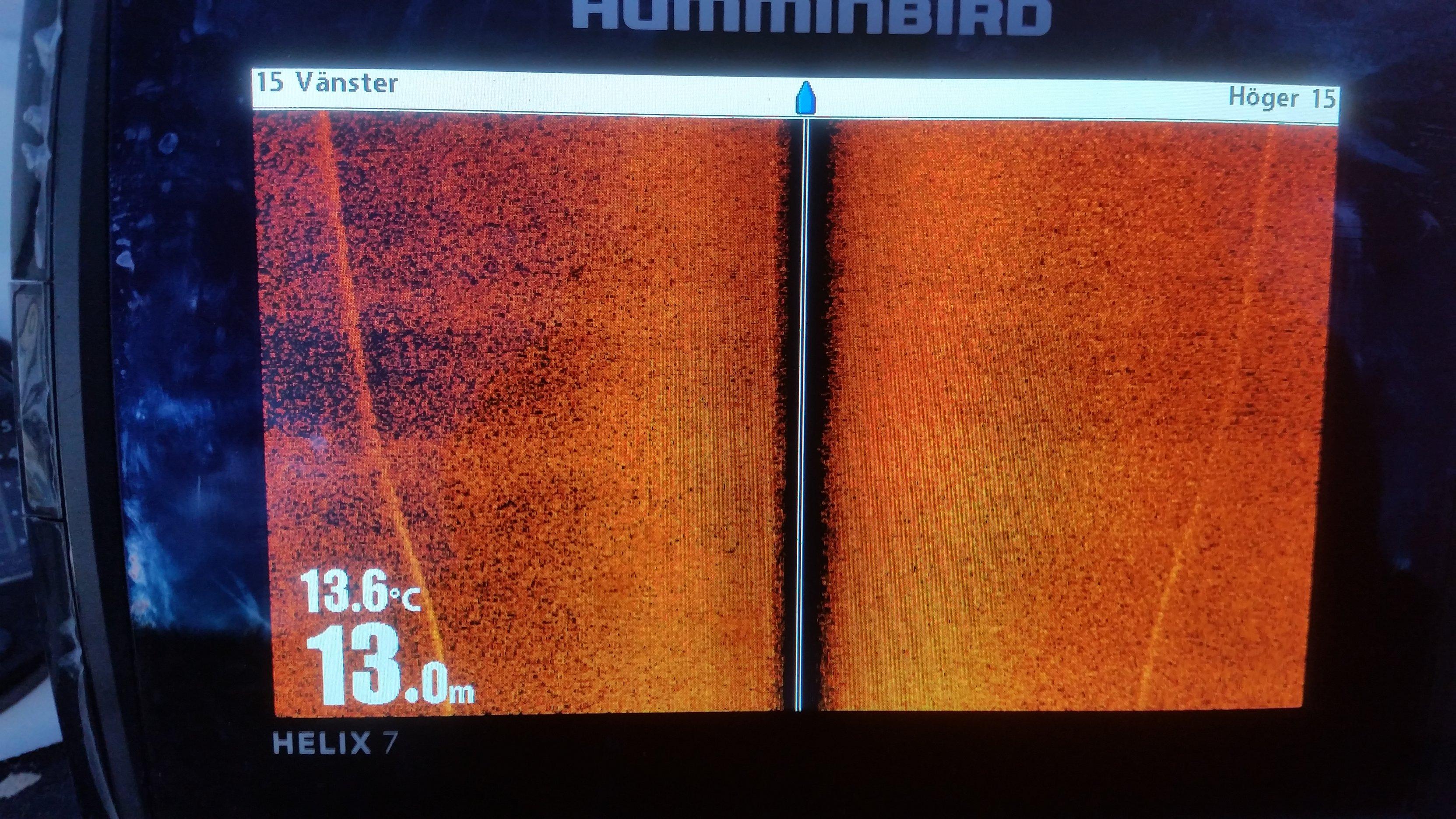 Problem med side image på humminbird helix 7 si - Fiskesnack